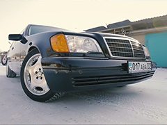 Mercedes-Benz W140: легенда 90-х