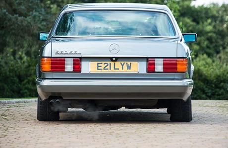 Бронированный Mercedes, принадлежавший королю, пустят смолотка закопейки